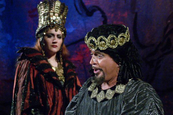 Nabucco  - Fekete Attila, Perencz Béla, 2006. (Fotó: Éder Veronika)