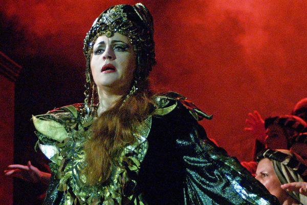 Nabucco  - Lukács Gyöngyi, 2006. (Fotó: Éder Veronika)