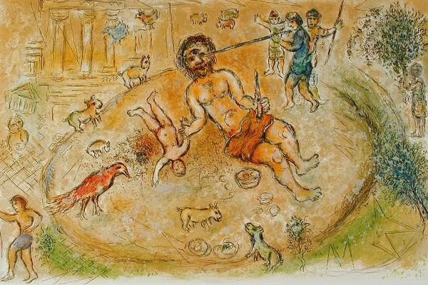 Chagall: Polyphemus Odyssey