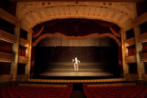 Hologramszínház (Forrás: www.ziogiorgio.com)