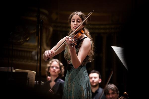 Vilde Frang és az Amsterdam Sinfonietta