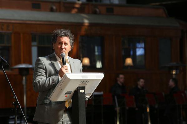 Ókovács Szilveszter főigazgató a sajtótájékoztatón (Fotó: Rákossy Péter)