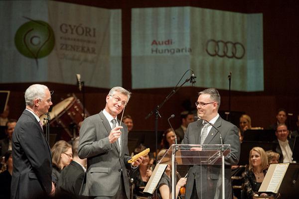 Balog Zoltán, dr. Thomas Faustmann Fűke Géza - Győri Filharmonikus Zenekar