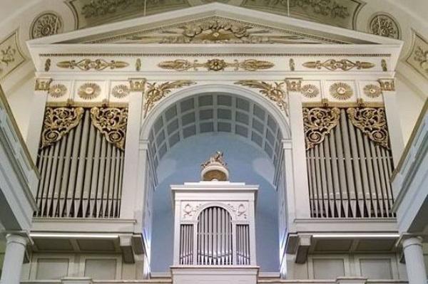 A Kálvin téri Református templom orgonája