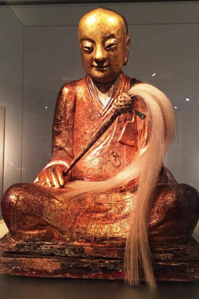 A mumifikálódott holttestet rejtő Buddha-szobor (Forrás: Természettudományi Múzeum)