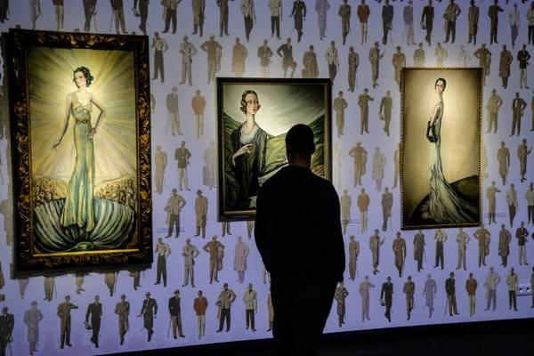 Batthyány Gyula képei a kiállításon