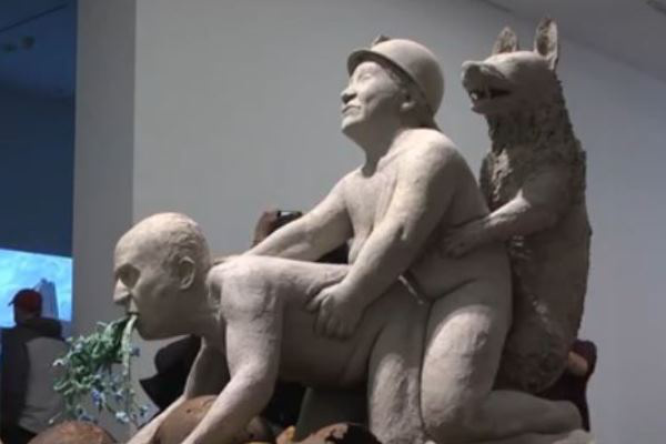 A botrányt okozott szobor