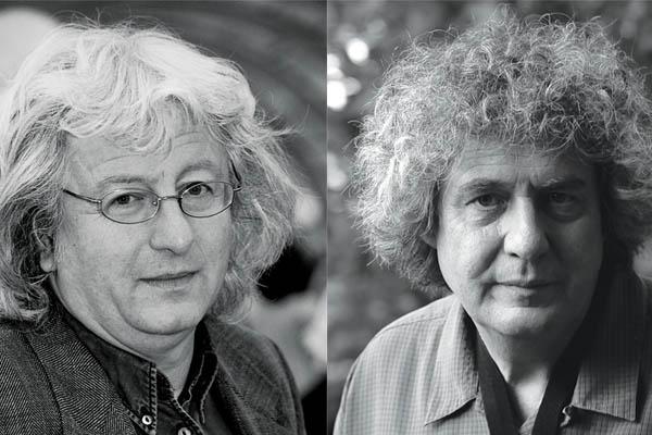 Esterházy Péter és Dés András