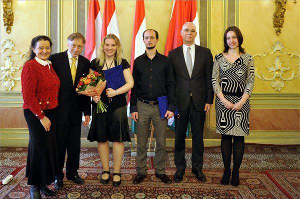 Tokody Ilona, Vásáry Tamás, Horváth Glória, Beeri Barnabás, Balog Zoltán, Magyar Judit (Fotó: Kovács Attila, MTI)