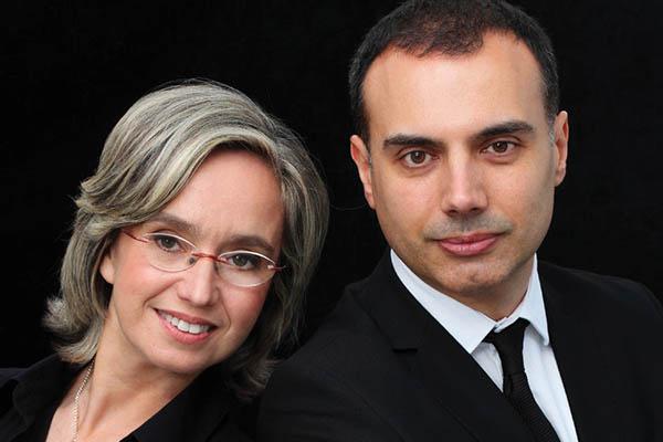 Carles Lama és Sofia Cabruja