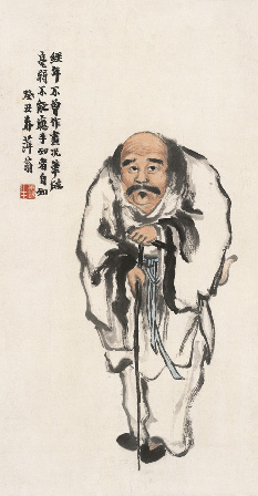 Qi Baishi: Vasbotos Li, 1913 (Forrás: MNG)