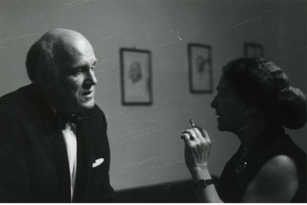Fischer Annie és Szvatoszlav Richter