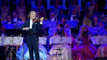 André Rieu koncertje a Puskin Moziban