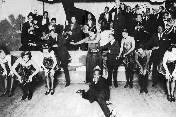 Jazz floor show, Chicago, 1924.