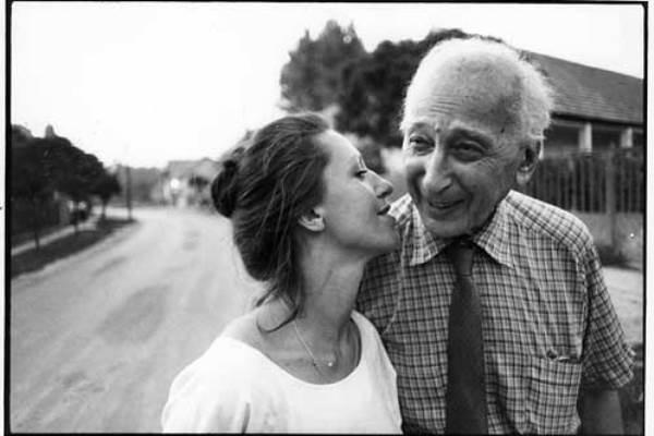 Baricz Kati és André Kertész, Szigetbecse, 1984