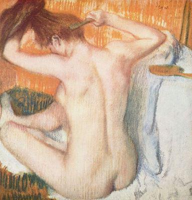Degas: Aktmodell (1885)