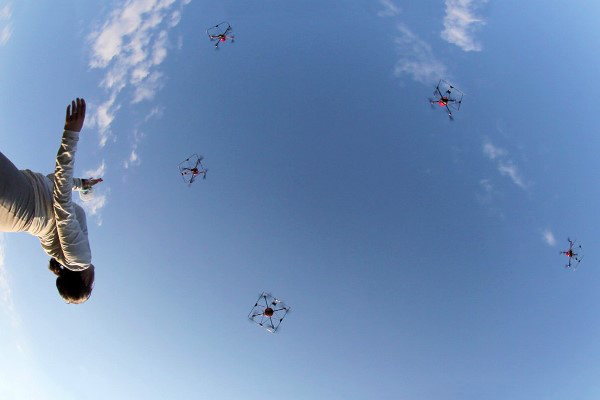 Dancing with Drones