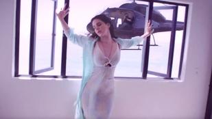 Na, mit villantott Lana Del Rey az új klipjében?