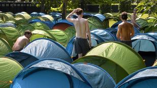 Meghalt egy sátrazó a Szigeten