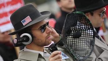 Nagy pofont kapnak ma az amerikai kémek