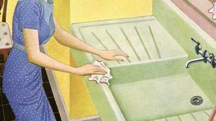 Dobjon törülközőt a mosogatóba, jó lesz!