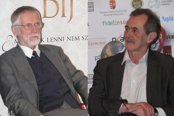 Szigethy Gábor és Solténszky Tibor