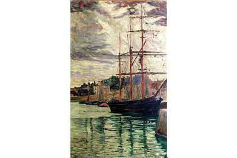 Pauls Signac Port-en-Bessin  1883