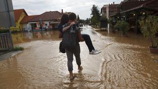 Balatonmáriafürdőt sem kímélte a vihar