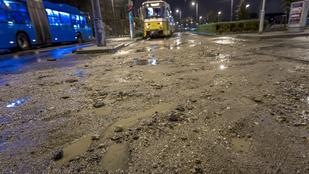 Még mindig akadozik a tömegközlekedés a vihar miatt