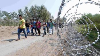 Másfél ezer migránst tartóztattak fel hétfőn