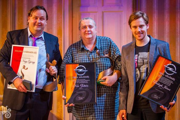 A Holdbeli csónakos-díj 2013. évi díjazottjai