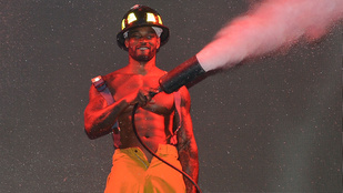 Három ember életét mentette ki a tűzből egy siófoki férfi, pedig nem is tűzoltó