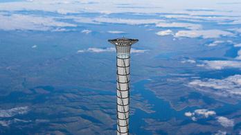 20 km magas űrliftet építenének Kanadában