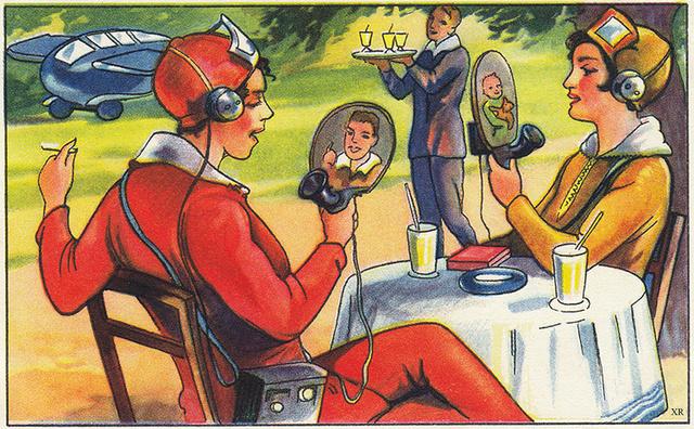 Már a húszas-harmincas években fantáziáltak a videotelefonról.