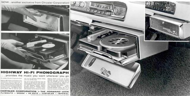 A lemezjátszó a műszerfalba volt beépítve és egy gombnyomással ki is lehetett azt nyitni. Az exkluzív szolgáltatás azonban javarészt csak azoknak a művészeknek és kiváltságosoknak járt, akikkel szerződésben állt a Columbia Records.