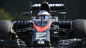 Alonso és Button az utolsó sorból rajtol Spában