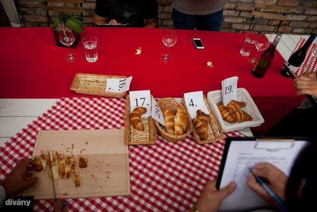 Croissant kategóriával indult a megmérettetés.