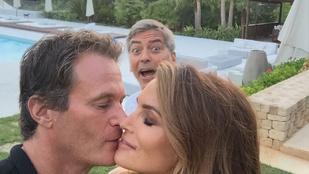 George Clooney-nál senki nem tud jobban belemászni egy csókba