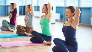 A jóga is lehet veszélyes – mint bármely mozgásforma