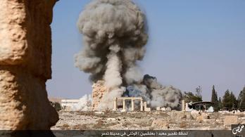 Már fotók bizonyítják Palmüra felrobbantását