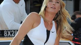 Sharapova nagyon próbálta takargatni a belátást