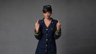 Na, ezért utálják önt a légiutaskísérők