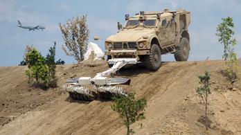 Humvee helyett ezzel járnak majd az amerikai katonák