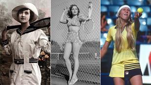 Ilyen teniszruhákat hordtunk az elmúlt 200 évben