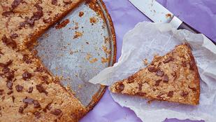 Pénteki süti: óriás csokis keksz