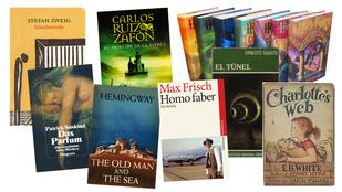 9 kötet, 3 nyelv - Nyelvtanulás és irodalom egy helyen
