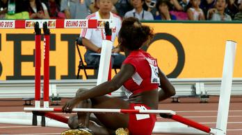 Az olimpiai bajnok fel sem fogta, hogy lebontotta a pályát
