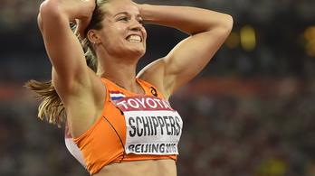 Szenzációs eredménnyel, holland futónő a 200 világbajnoka