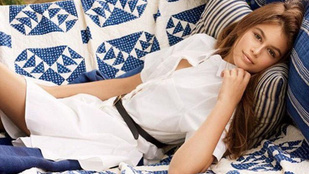 Cindy Crawford lánya a Vogue-nak pózolt
