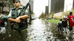 Sokkoló pusztítást végzett tíz éve a Katrina hurrikán